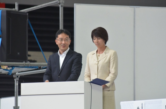 司会 久保田先生(左)、野津先生(右)