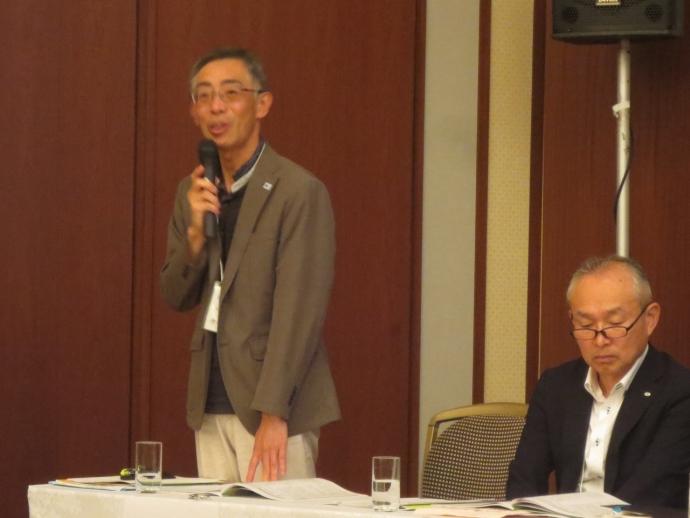 指導助言者 丹羽 広光(左)、加藤 明良(右)