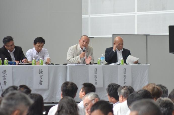指導助言者 筧 尊士(左)、長井 正邦(右)