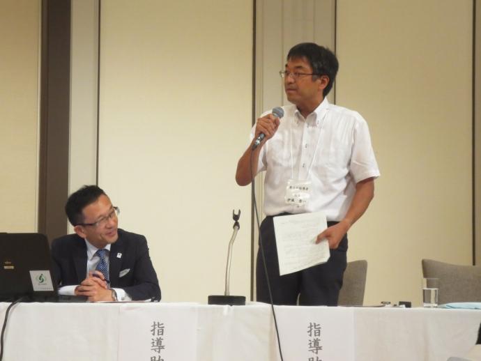 指導助言者 稲葉 裕之(左)、伊藤 秀一(右)