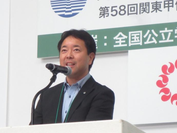 第6分科会 矢野総務部部長