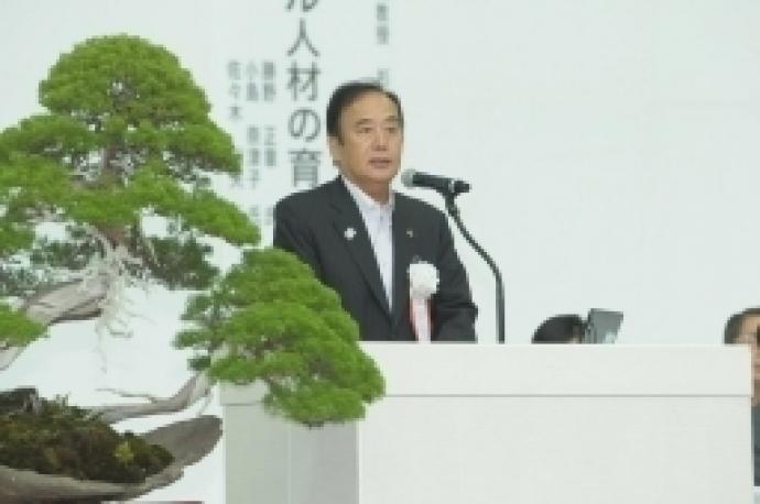 来賓祝辞 埼玉県知事 上田 清司 様