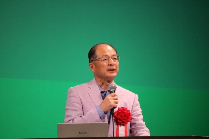 講師 横石知二 氏(株式会社いろどり 代表取締役)