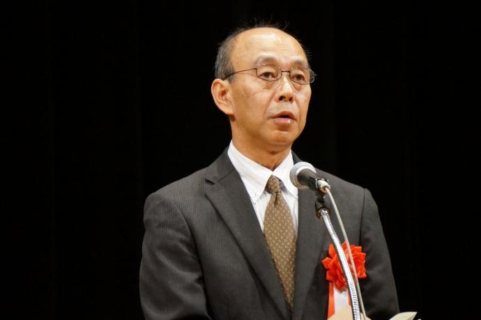 来賓祝辞 全国連合小学校長会 対策部長 千木良 康志 氏