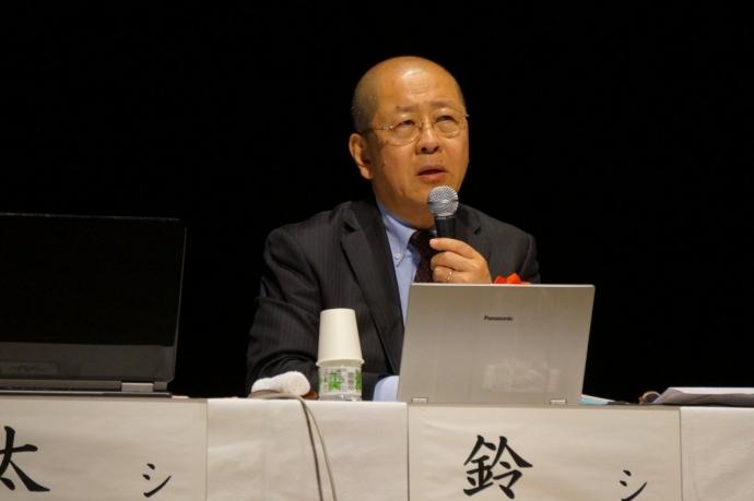 シンポジスト 産業能率大学経営学部 教授 鈴木 建生 氏