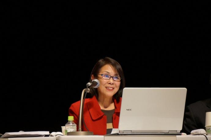 シンポジスト 高知市教育委員会 教育委員 谷 智子 氏