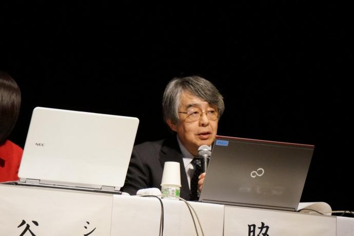 シンポジスト 全国公立学校教頭会 副会長 脇田 禎彦 氏