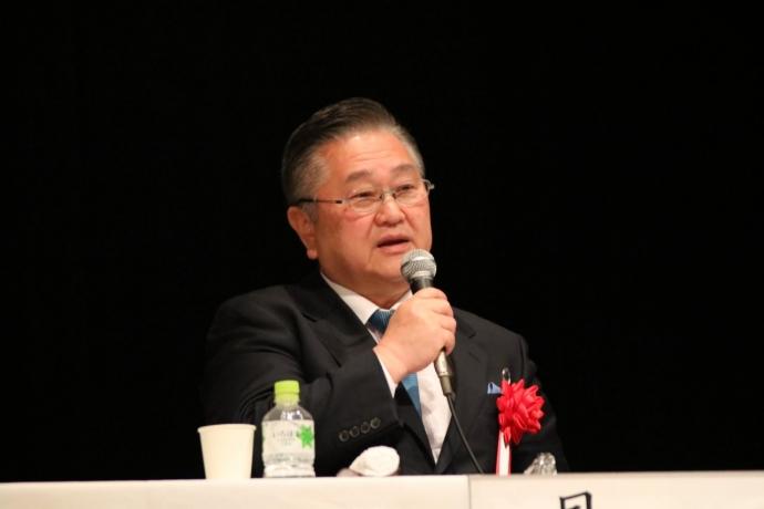 シンポジスト 貝ノ瀨 滋 氏