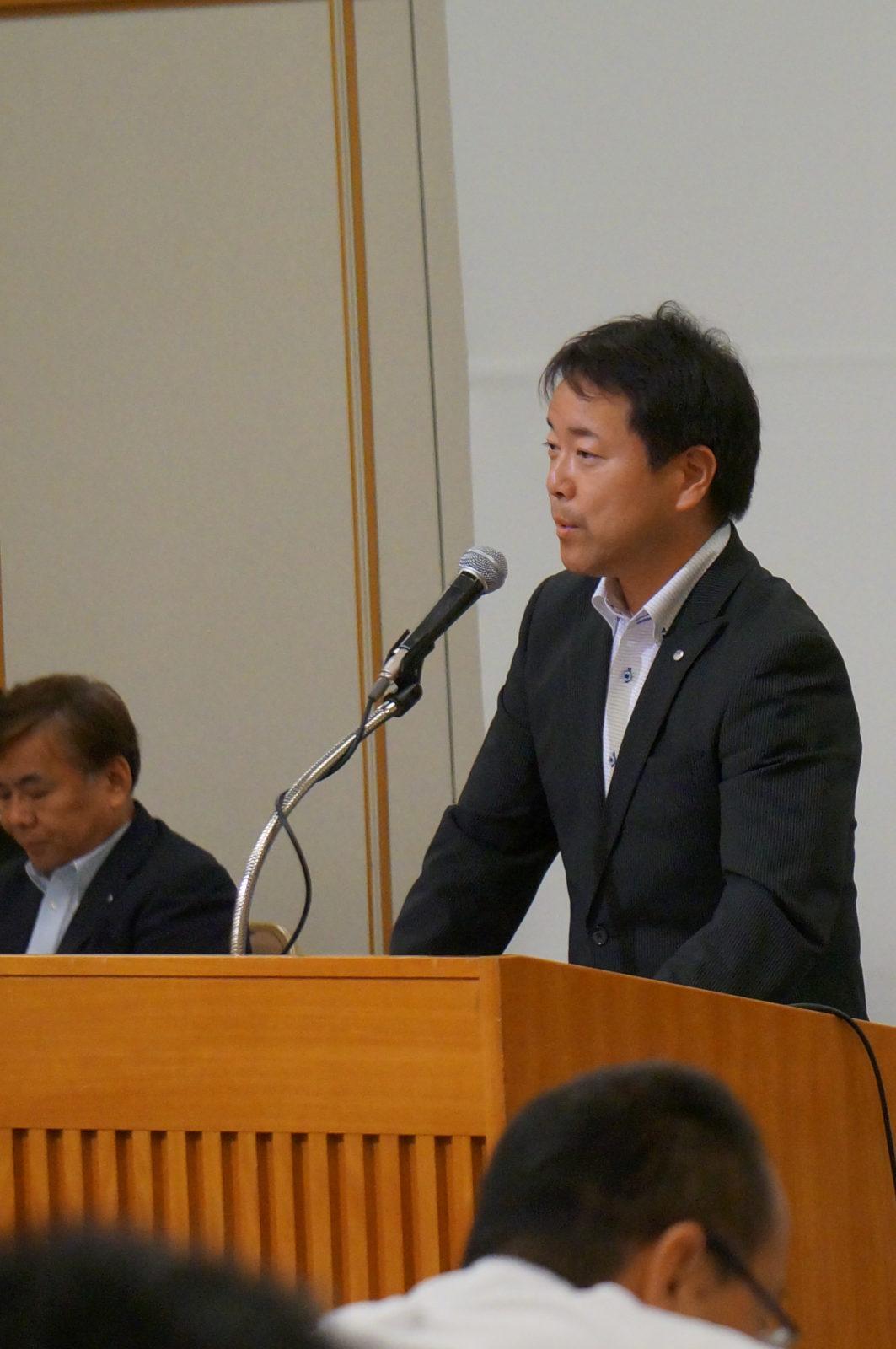 矢野総務部長