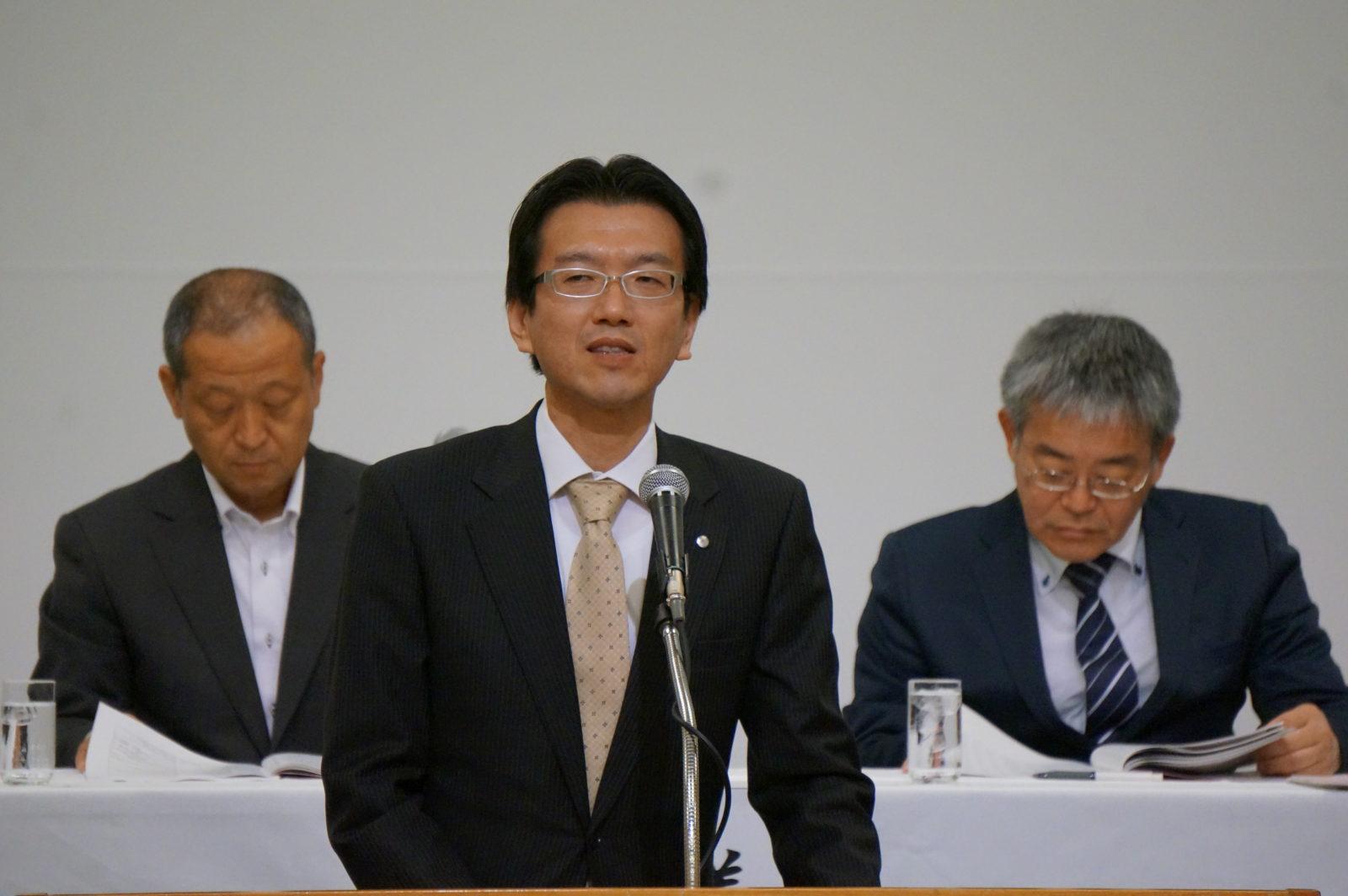 長島研究部長