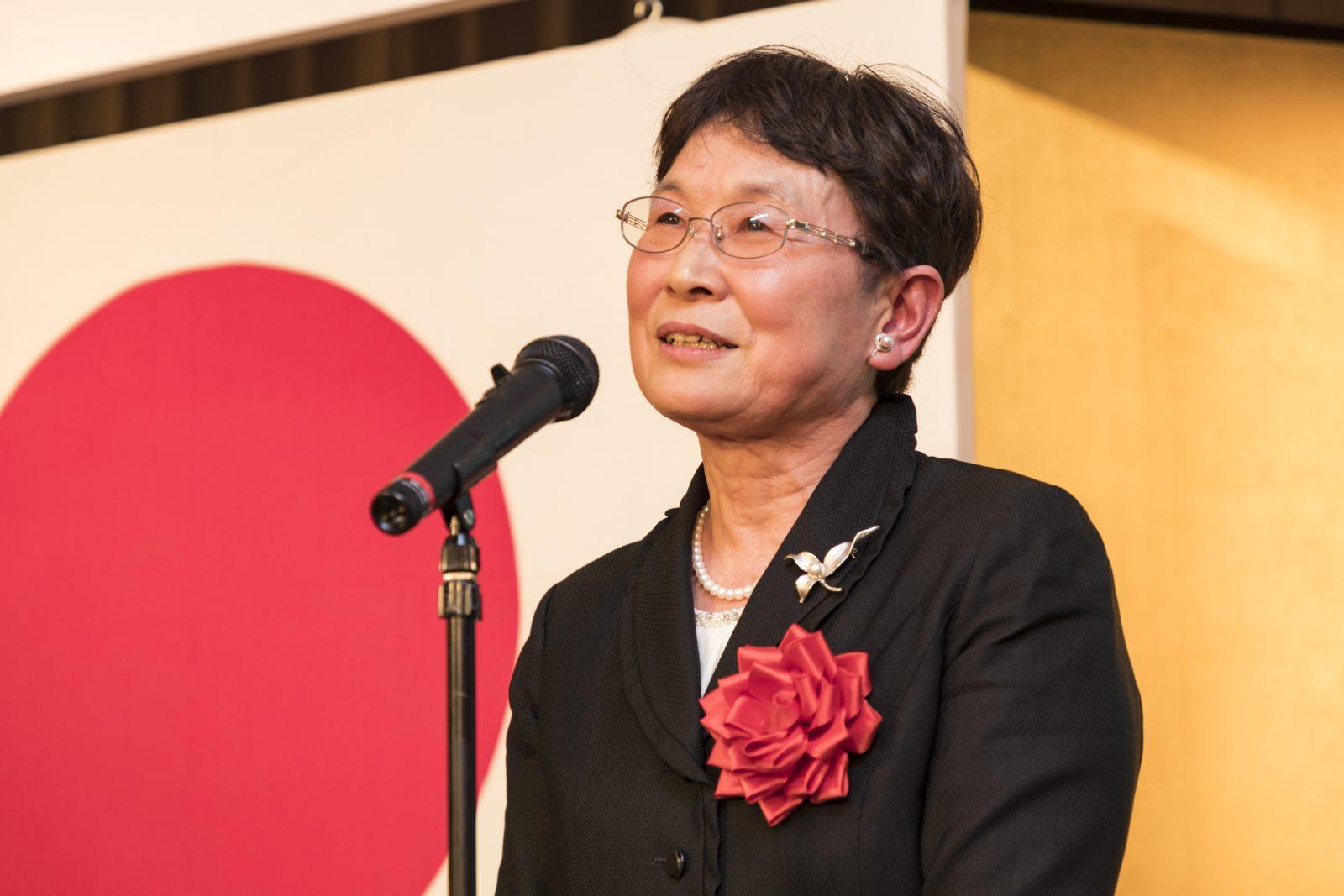 平成22年度全国公立学校教頭会 会長 榎本桂子 様