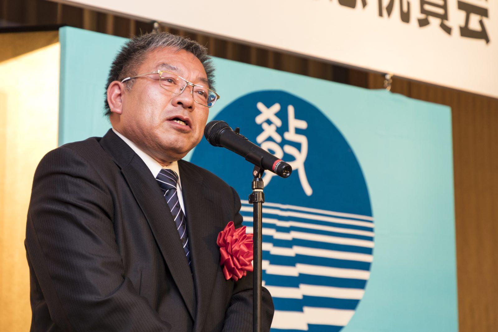 平成27年度全国公立学校教頭会 会長 吉田一義 様