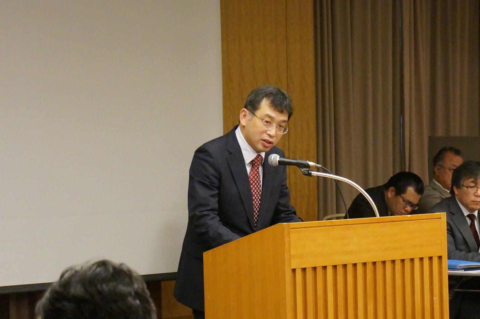 岡山県研究部長